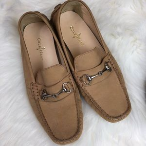 Cole Haan Shelby Bit II Driving Loafer Sandstone